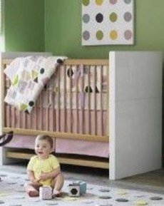 Relaxing Baby Nursery Design Ideas With Polka Dot Themes To Try Asap 19