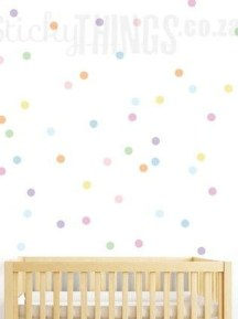 Relaxing Baby Nursery Design Ideas With Polka Dot Themes To Try Asap 20