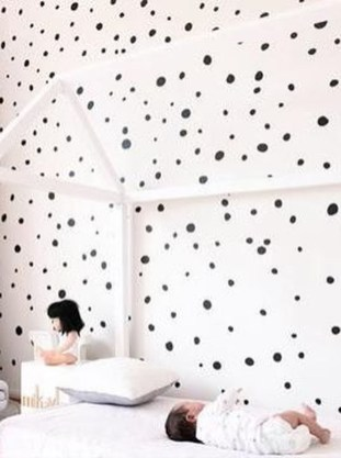 Relaxing Baby Nursery Design Ideas With Polka Dot Themes To Try Asap 26