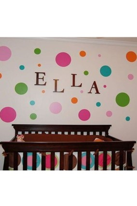 Relaxing Baby Nursery Design Ideas With Polka Dot Themes To Try Asap 38