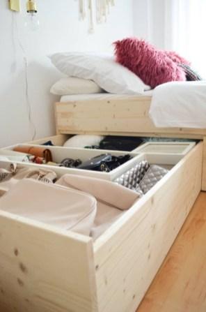 Superb Diy Storage Design Ideas For Small Bedroom 13