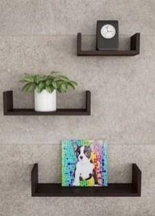 Unique Living Room Floating Shelves Design Ideas For Great Home Organization 01
