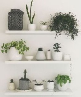 Unique Living Room Floating Shelves Design Ideas For Great Home Organization 10