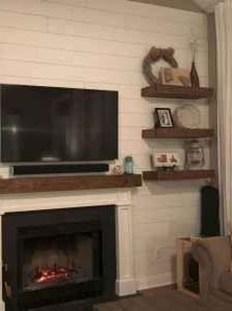 Unique Living Room Floating Shelves Design Ideas For Great Home Organization 20
