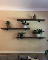 Unique Living Room Floating Shelves Design Ideas For Great Home Organization 27