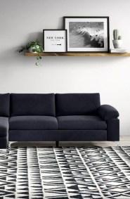 Unusual Black Living Room Design Ideas For More Enchanting 18