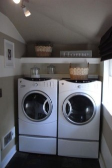 Wonderful Bright Laundry Room Designs Ideas That You Need To Try 13