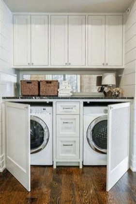 Wonderful Bright Laundry Room Designs Ideas That You Need To Try 25