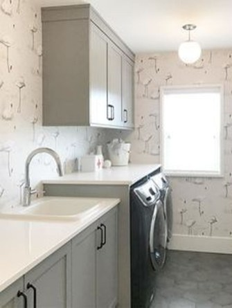 Wonderful Bright Laundry Room Designs Ideas That You Need To Try 35