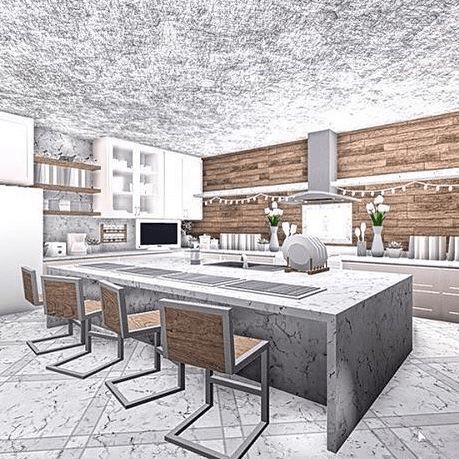 Aesthetic Bloxburg Kitchen Ideas