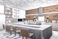 Aesthetic Bloxburg Kitchen Ideas