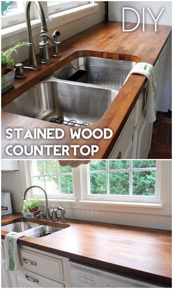 Diy Kitchen Worktop Ideas