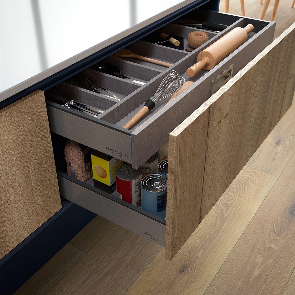 Kitchen Cabinets Storage Solutions