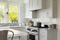 Farmhouse Kitchen White And Gray