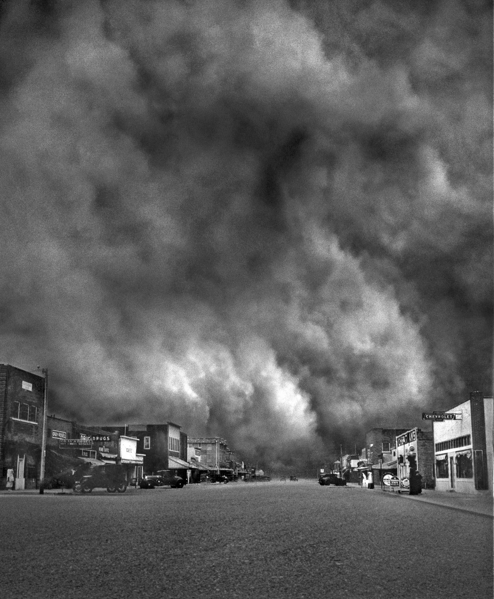 How Did Dust Bowl Affect The Great Depression