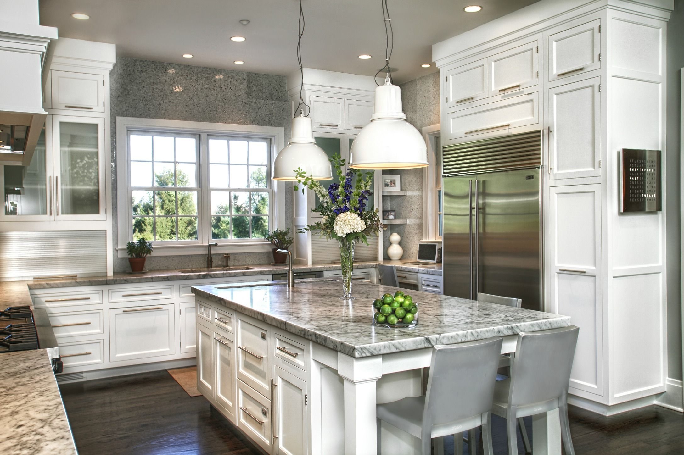 Images Of White Transitional Kitchens