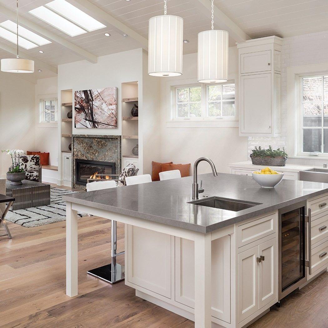 Best White Kitchens With Quartz Countertops