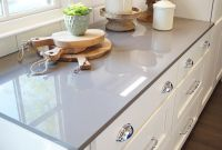 White Kitchens With Grey Quartz Countertops