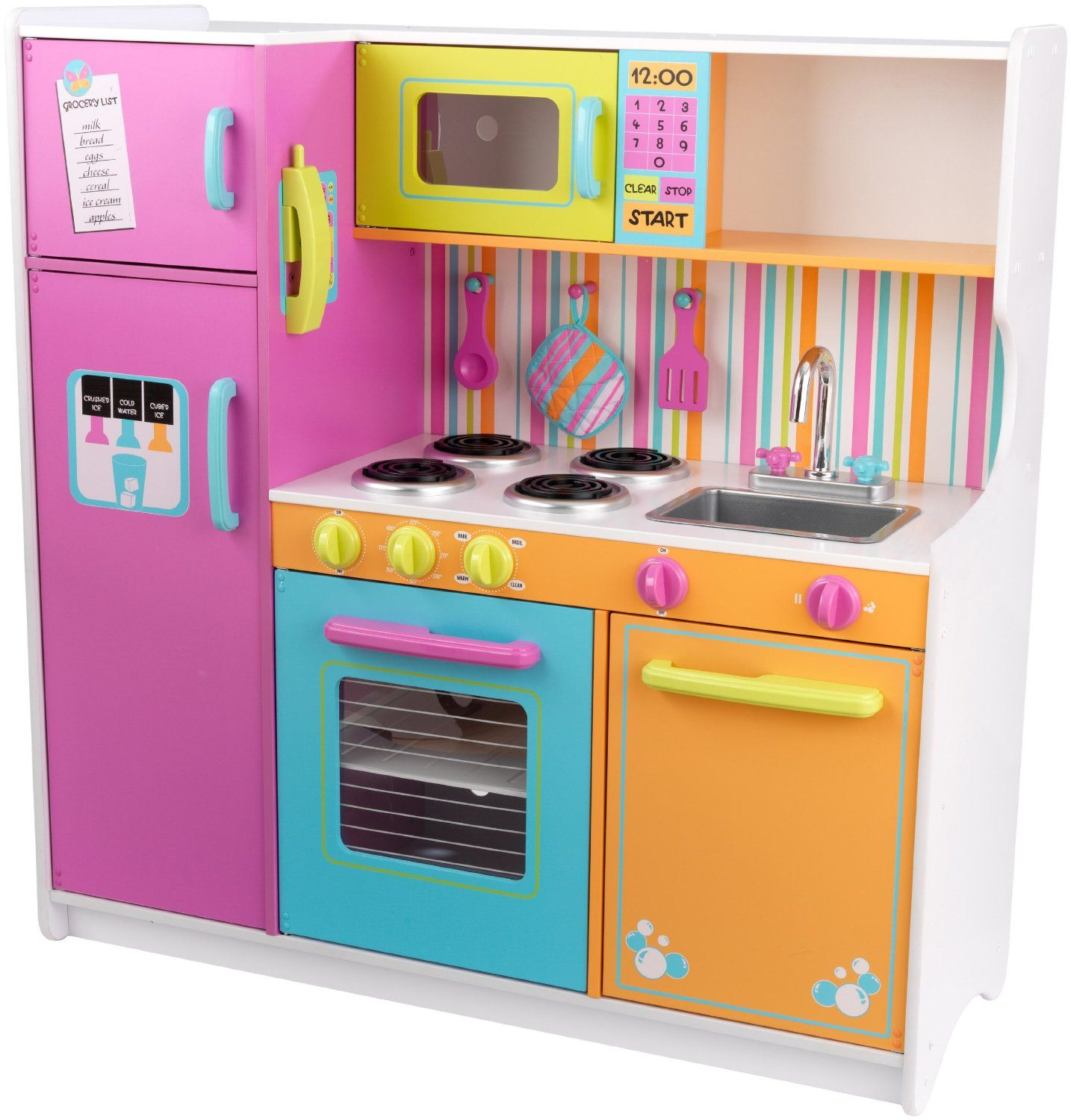Wooden Play Kitchens For Toddlers