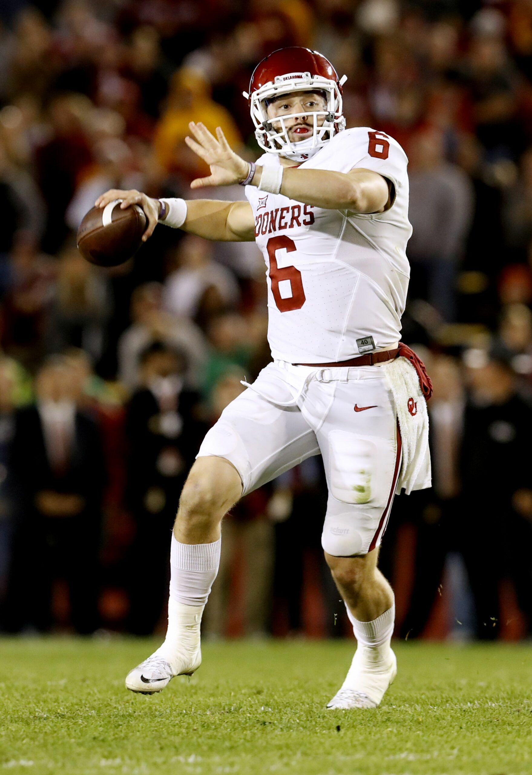 Baker Mayfield Stats College