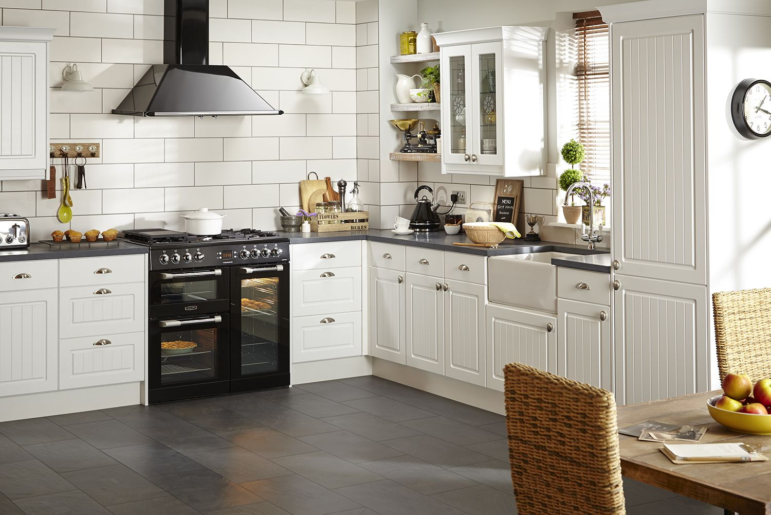 Farmhouse Kitchen Tiles Uk