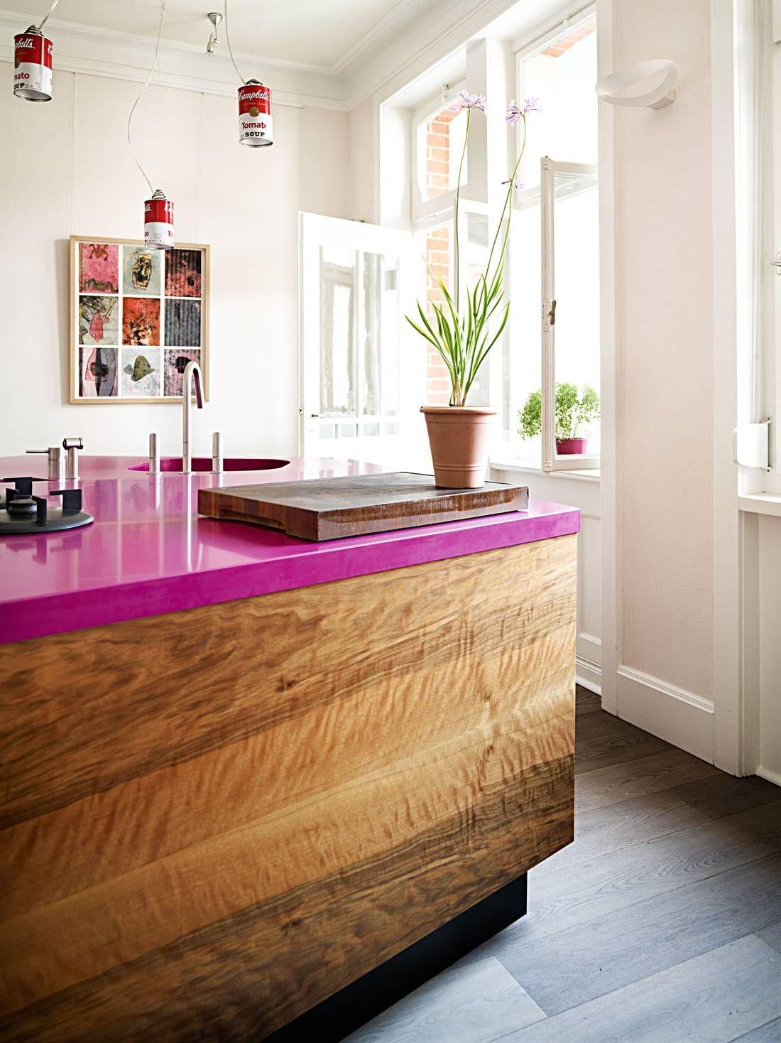 Pink Kitchen Ideas Decorating