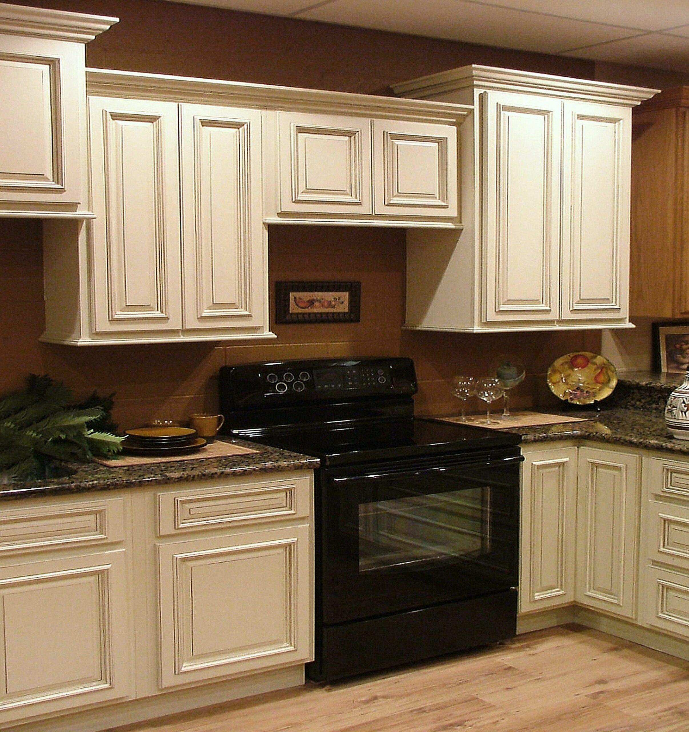 Oak Cabinets Painted Antique White