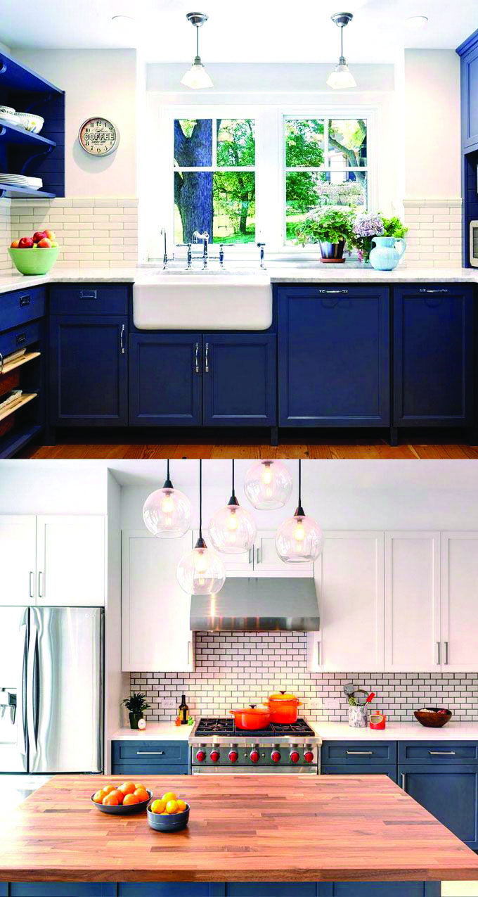 Blue Kitchen Cabinets For Sale