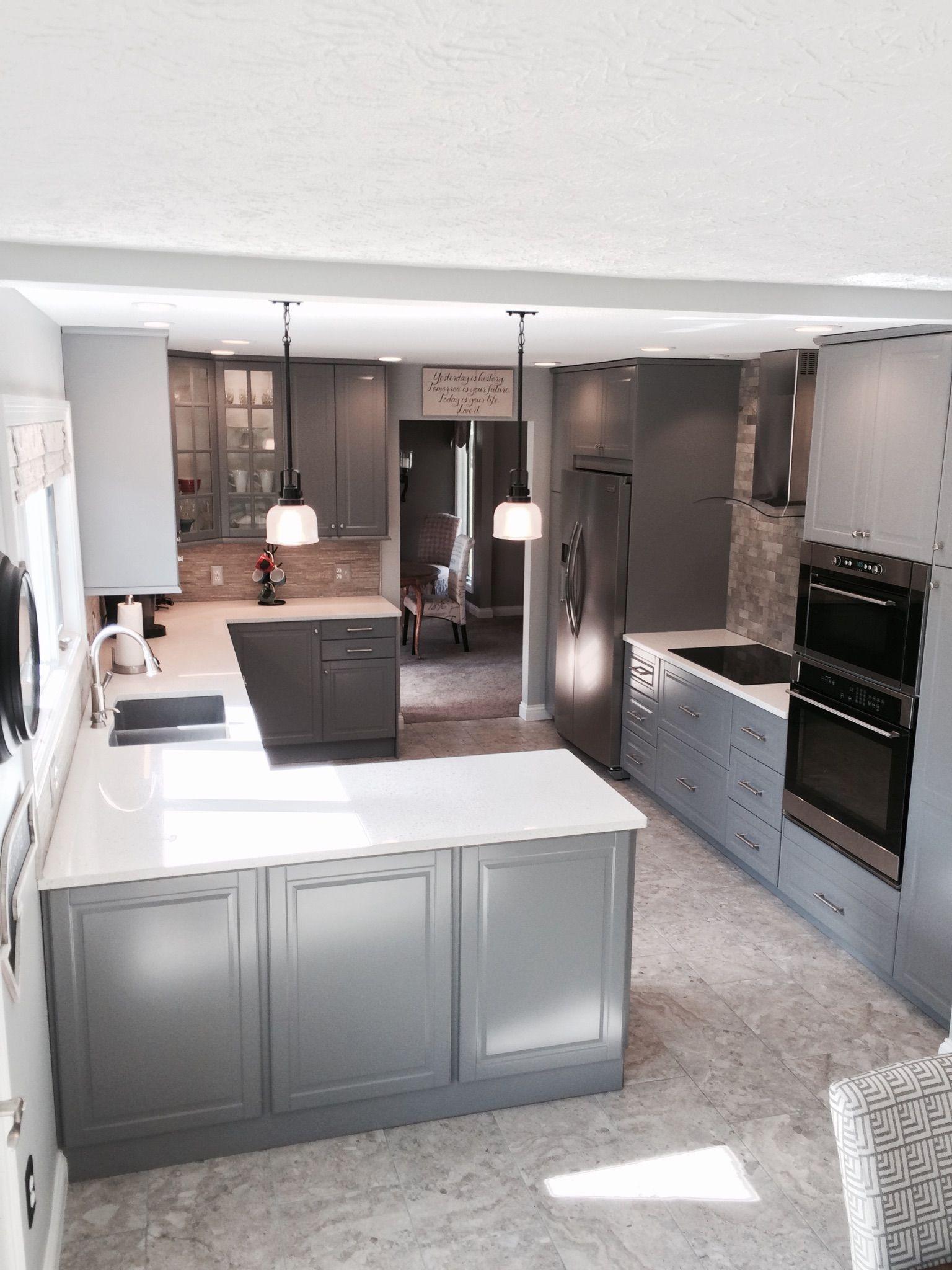 Ikea Kitchen Cabinets Bodbyn Grey