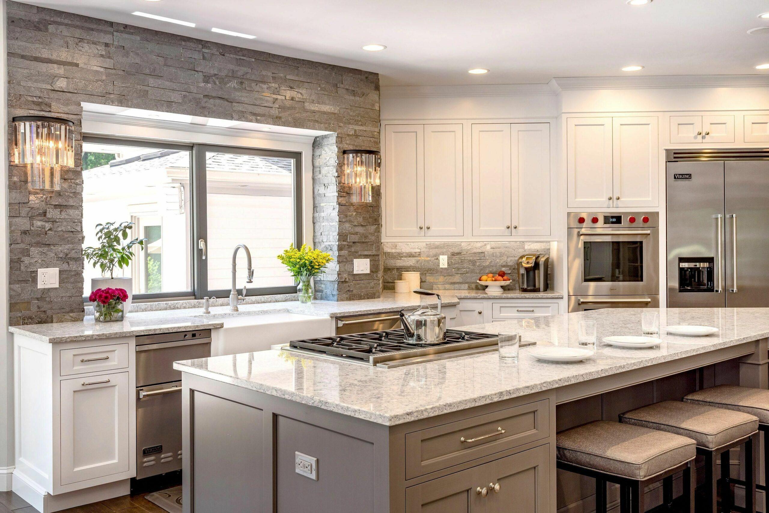 Transitional White Kitchen Ideas