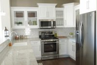 Kitchens With Grey Cabinets And Dark Floors
