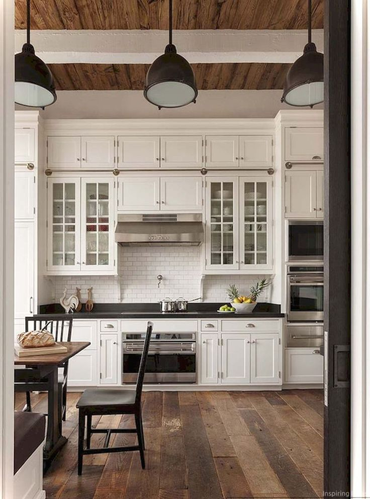 Farmhouse Kitchen Ideas With White Cabinets