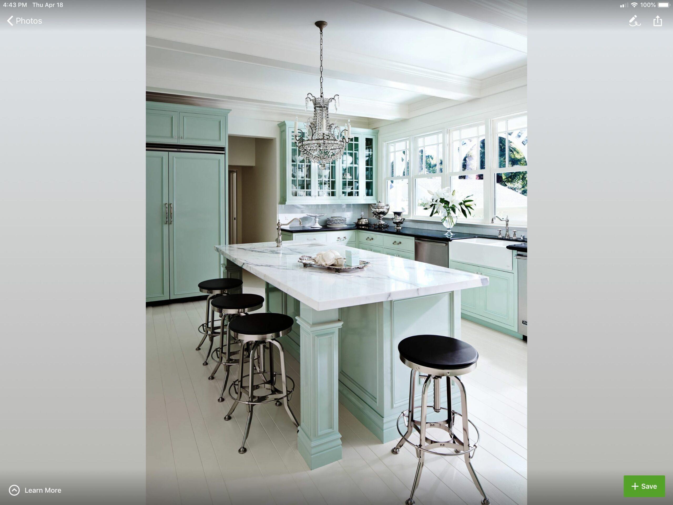 Mint Green Kitchen Walls
