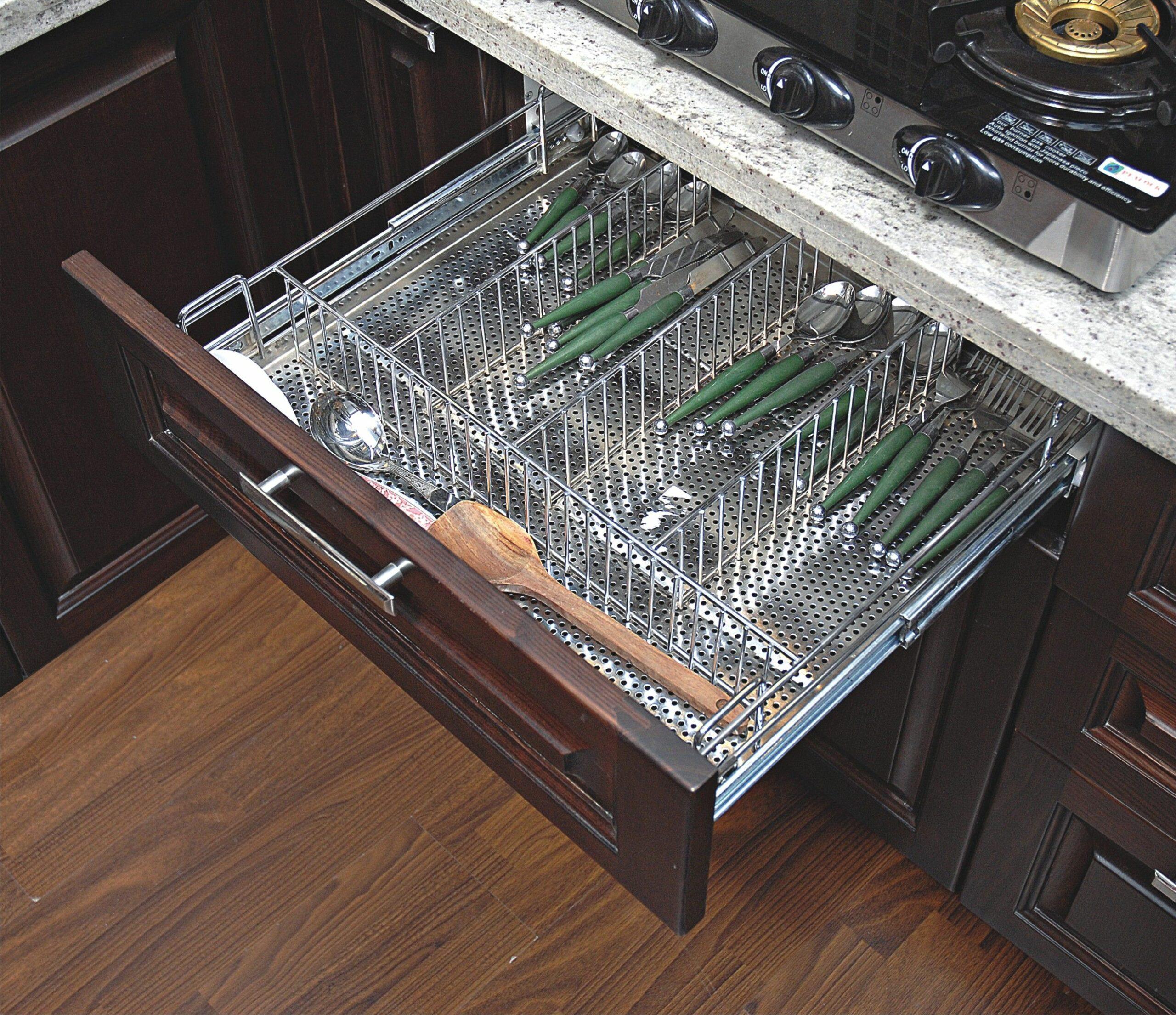 Modern Kitchen Basket Size