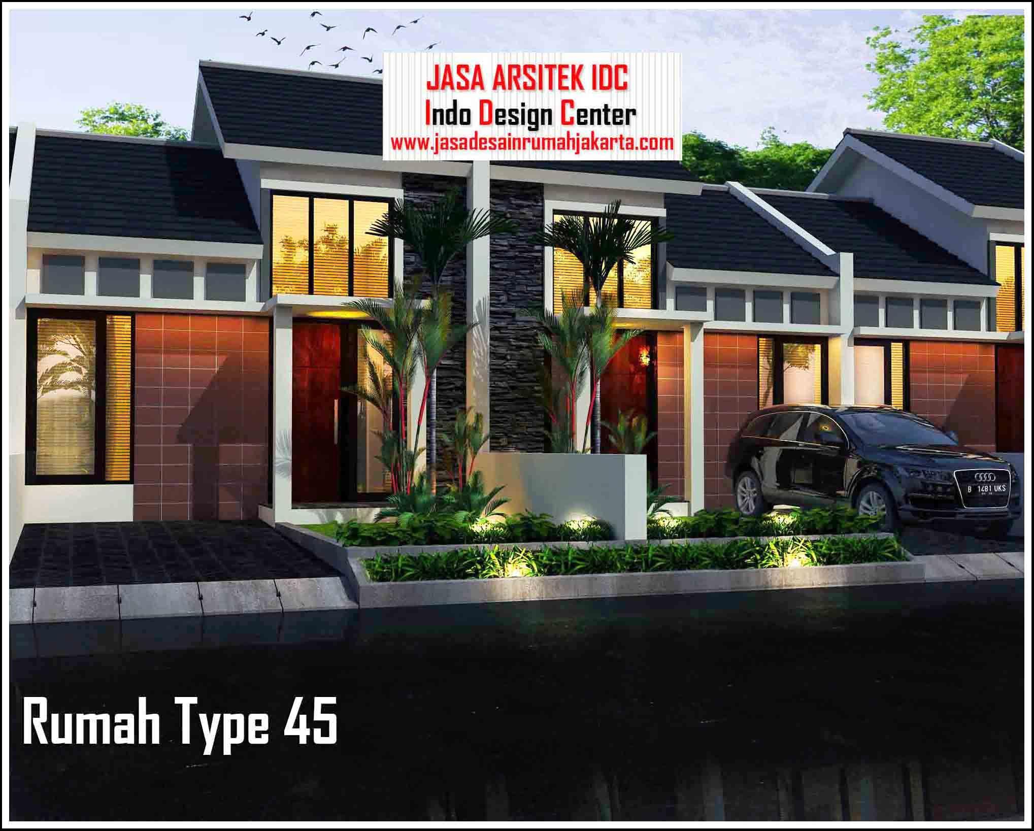 Design Interior Rumah Minimalis Type 45