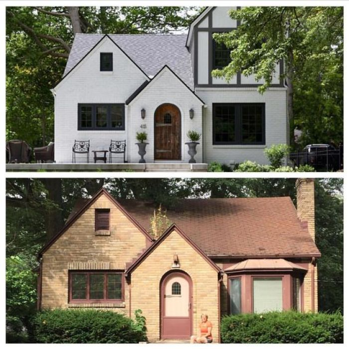 Inspiring Before And After Exterior Remodel Projects To