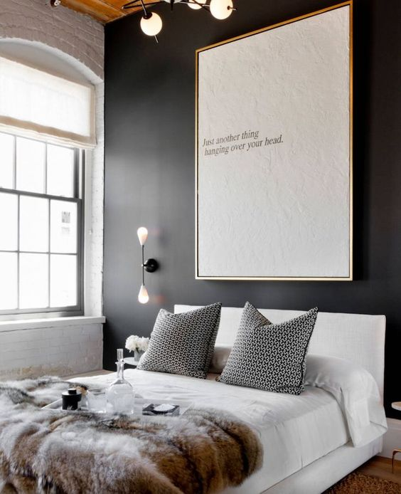 Bold Black Accent Wall Ideas