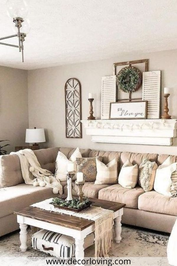 21 Fantastic Farmhouse Living Room Decor Ideas On A Budget You Must Try