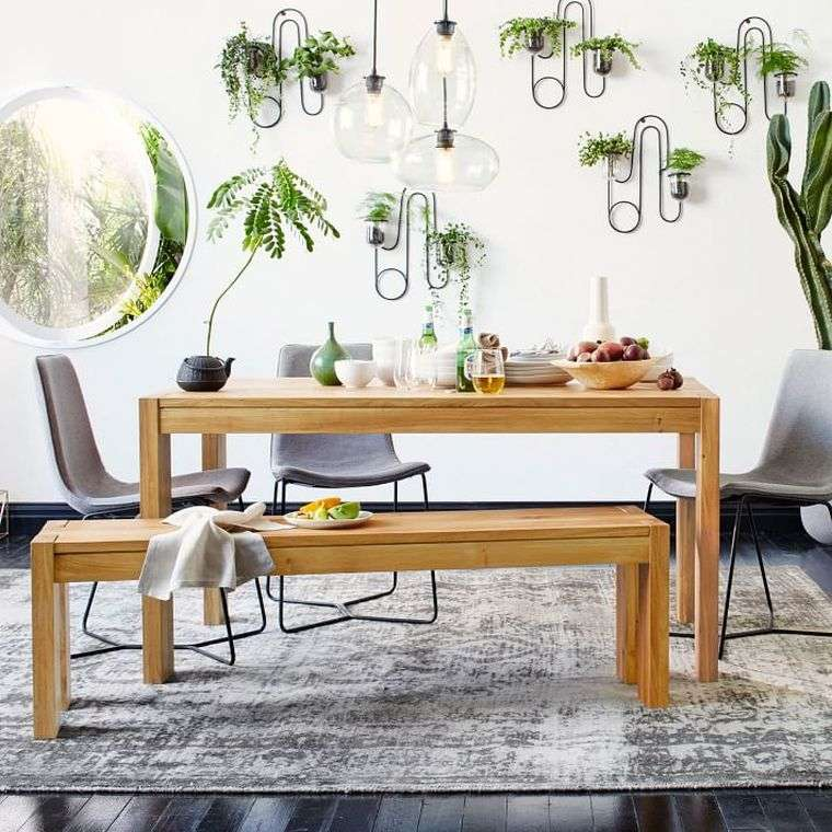 12 affordable diy rustic dining room