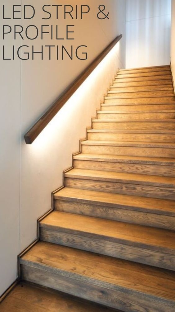 12 Best Stair Handrail Ideas For Home Interior Stairs | Wall To Floor Handrail | Glass | Paint Colors | Staircase | Wrought Iron | Concrete