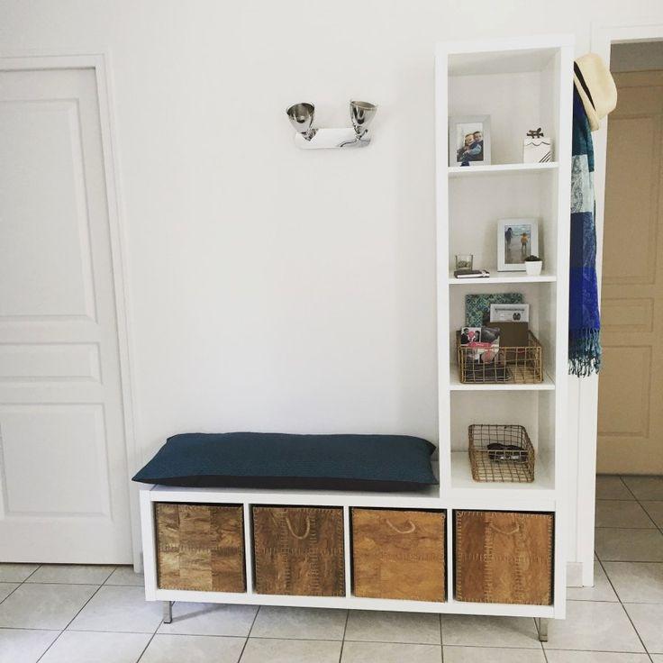 Meuble Chaussure Palette Banc Entrée Ikea Design De Maison