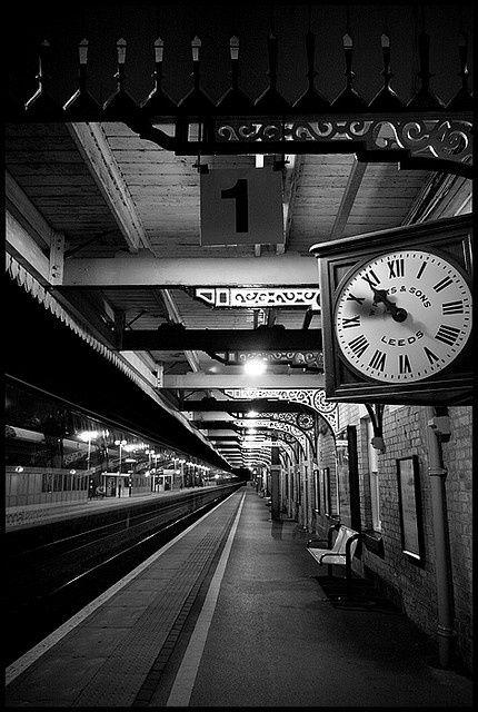 Clocks Decor Old Train Station Decor Object Your