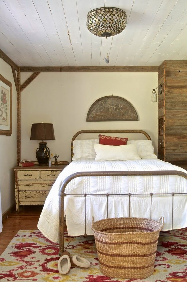 Furniture Bedrooms Rustic Guest Bedroom Inspiration