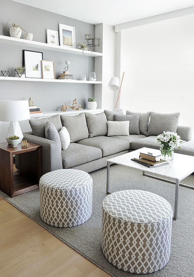 home decor living room gris clair
