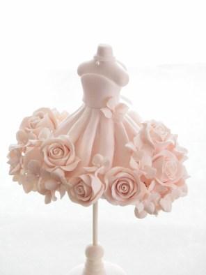 ウエディングドレス / クレイクラフト トルソーデコ