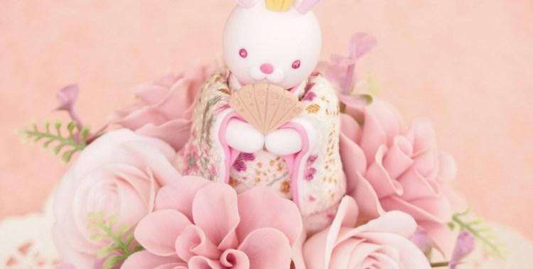 うさぎの雛人形 / クレイクラフト