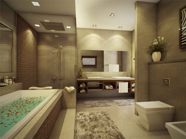 Top 5 Modern Bathroom Designs