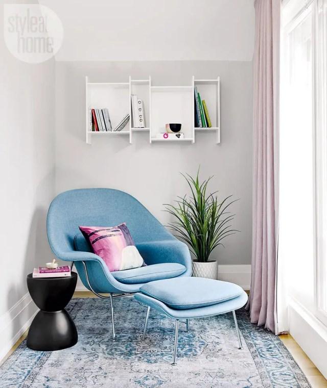 modern clutter-free home