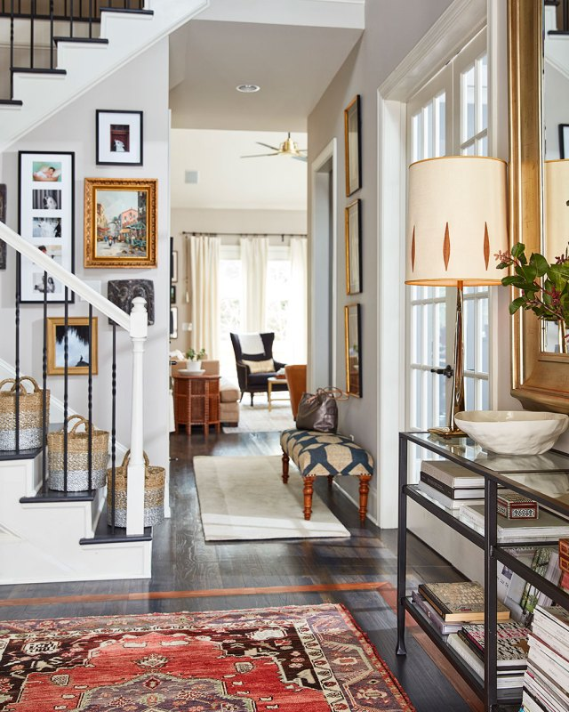 warm and eclectic