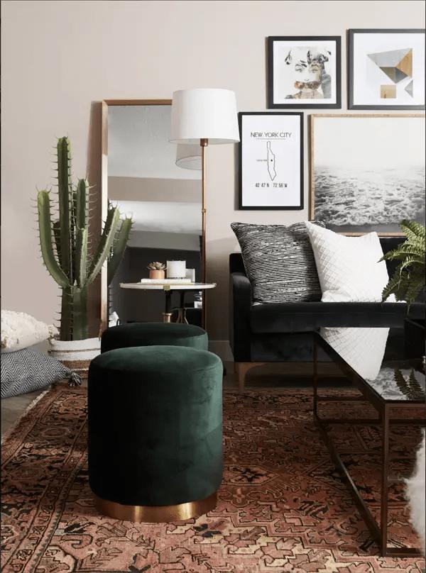 Andrea West Design living room